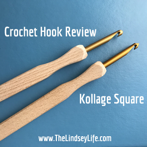 Crochet Hook Review: Kollage Square from Louet