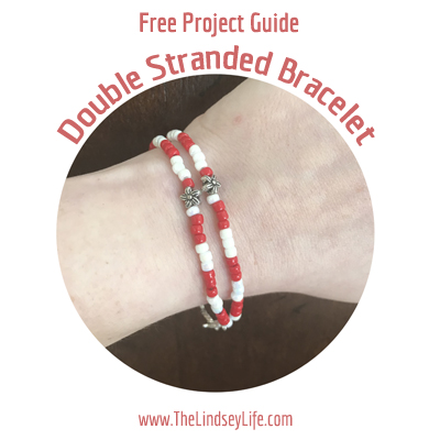 Free Project Guide: Double Stranded Seed Bead Bracelet