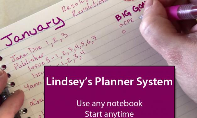 Lindsey's Planner System – Part 1