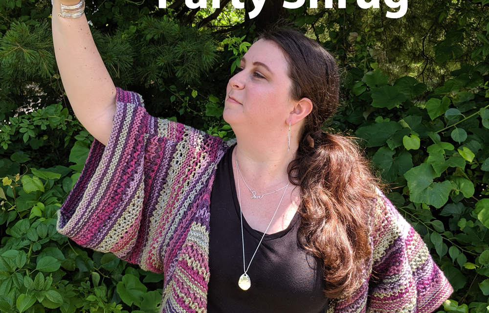 Party Shrug : Free Knitting Pattern - The Lindsey Life
